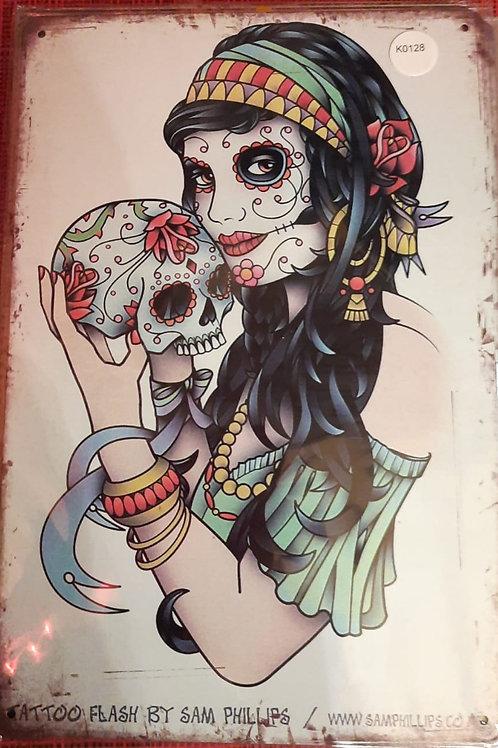 Love Skull  K0128
