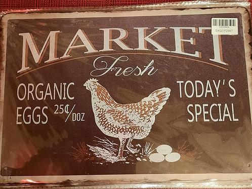 Market Fresh Organic Eggs  HK430