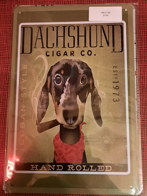 Dachshund Cigar CO  HK0136