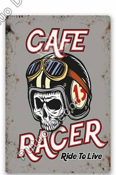Cafe racer ride to live TH8379
