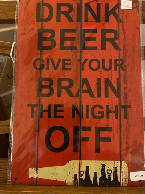 Drink beer A018