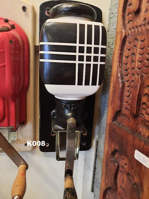 Koffiemolens PEDE zwart wit K008