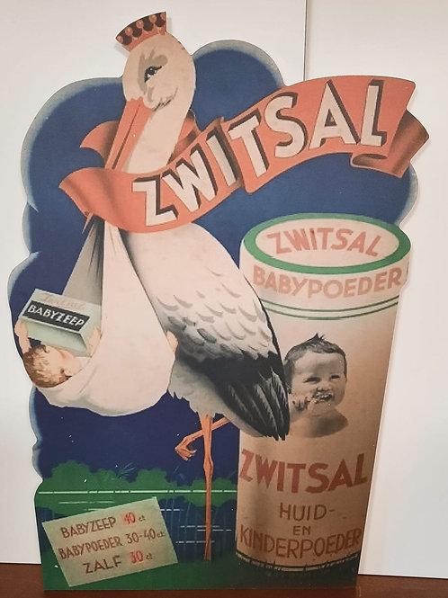 Replica reclame bord Zwitsal