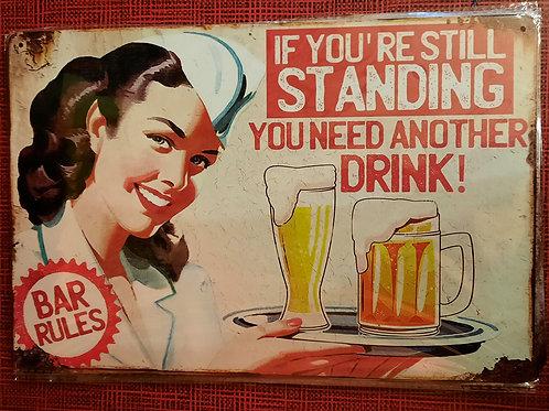 Still Standing  HK0424  Bar Rules