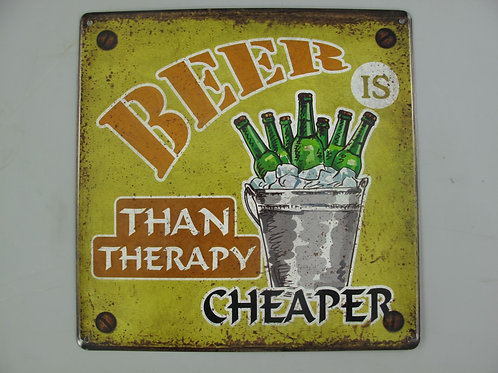 Beer is cheaper than Therapy  333.K11