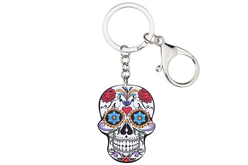 Sleutelhanger Skull HK614