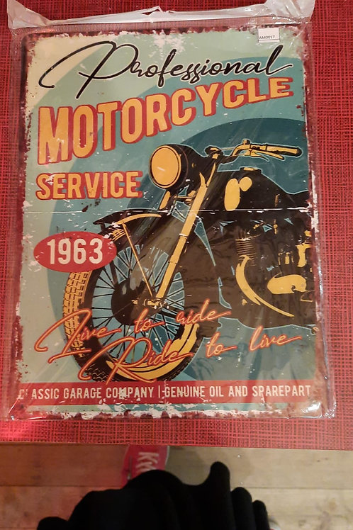 Motorcycle Service 1963