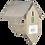 Thumbnail: Pindakaashuis oud hout  FB249       FSC100%