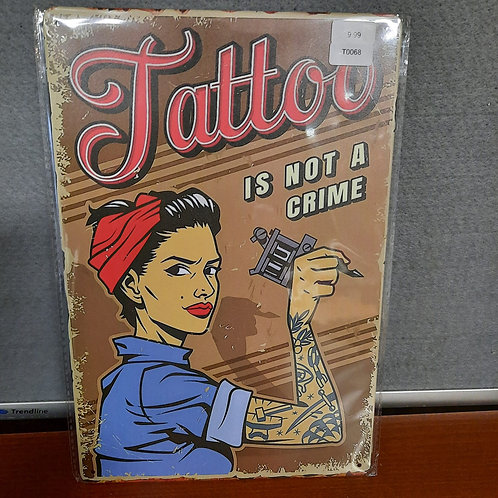 Tattoo is not a crime  T0068