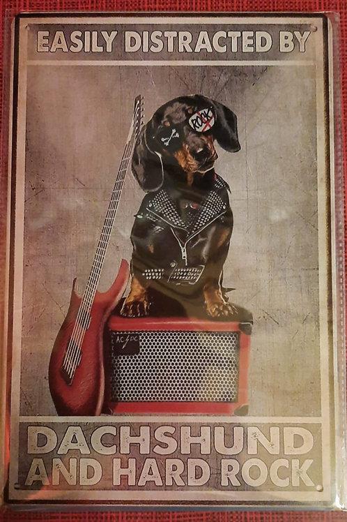 Rockstar Dachshund HK0104