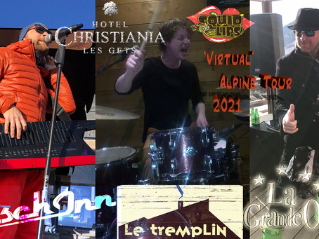 Strange Times...     From 150 live gigs...    to 4 live streams
