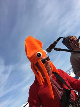Gareth Squid Hat