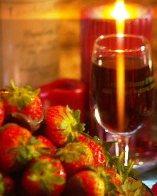 nice strawberry wine candle.JPG