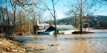 1997 Flood at Lanthier Winery