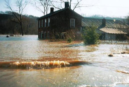 March 9, 1997 - Flood at Lanthier Winery