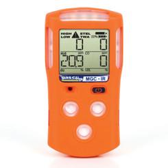 Gas Clip, multi gas clip, multi gas detector, IP67 gas detector, infrared LEL sensor, portable gas detector, rechargeable gas detector, mgc