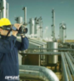 EyeCGas, Infrared Gas Leak Detector, CO leak detection, CO2 leak detection, CO2 camera, CO camera, EyeCGas Kit, Battery pack, glare shield, ATEX ir gas camera, atex gas camera, Ethylene, 1-Hexane, Propanal, 1,3-Butadiene, 1-Butene, Methane, Propylene 1-pentene, Styrene, Toluene, Acetic acid, Xylene, 1,2-dimethyl-Benzene, Isobutylene , Isoprene, Benzene, Ethyl benzene, Ethylene oxide, Hexane, Methanol, Propylene oxide, Propylene, Ethane, Octane, Heptane, Isopropyl alcohol, MEK Methyl Ethyl Ketone 2-butanone, Propane, Butane, Pentane, visualize gases, CO2