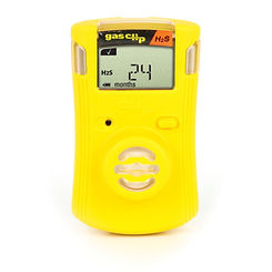 Gas Clip, single gas clip, sgc, single gas detector, O2 detector, oxygen detector, CO detector, H2S detector, IP67 gas detector