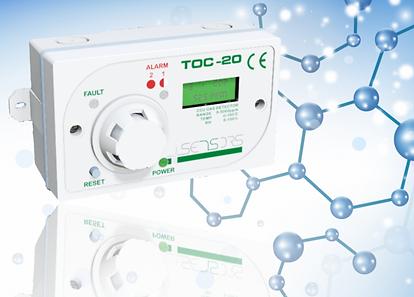 international gas detectors, igd, TOC-20, gas detection, refrigerant monitoring, CO2 detection