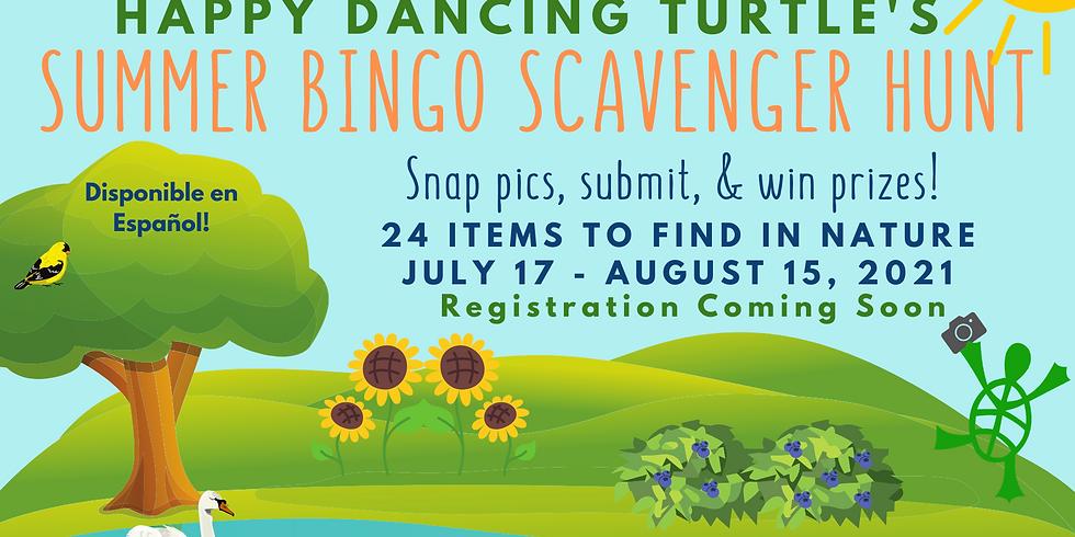 Summer Bingo Scavenger Hunt!