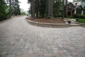 paver driveway, paver steps, paver walkway