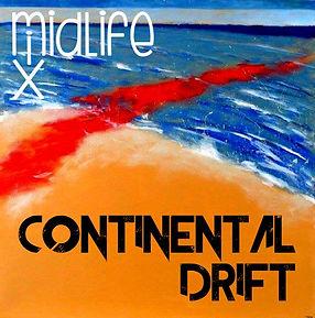 MidLifeMix Continental Drift art with lo