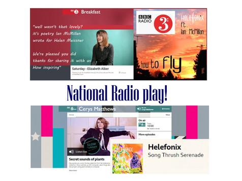 BBC Radio 3 and BBC 6 Music debut
