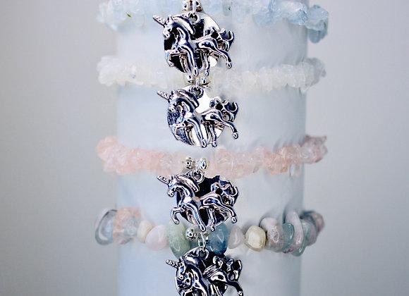Mirror, Mirror Gemstone Stretch Bracelets
