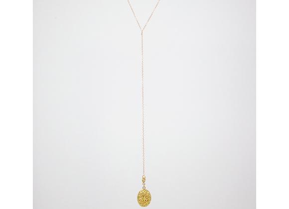 Lariat Diffuser Necklace (14kt gold-filled)
