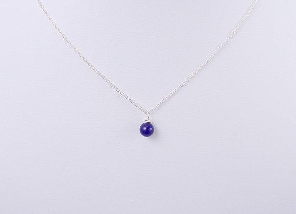 Lapis Lazuli Drop Necklace