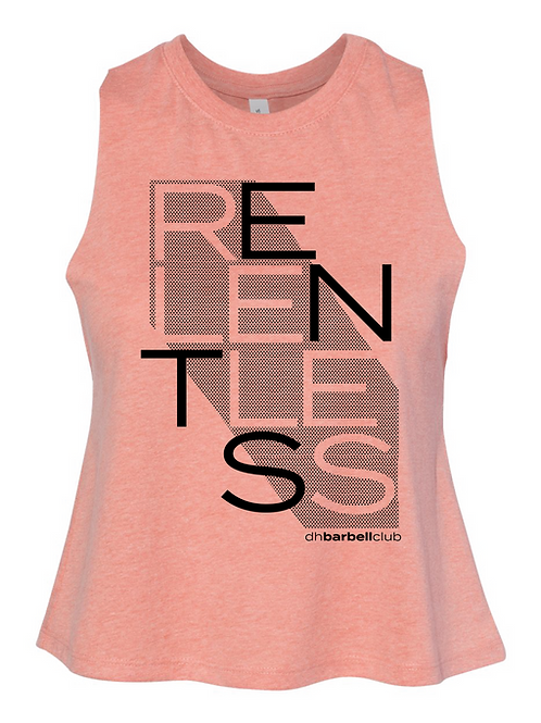 Relentless Women's Racerback Cropped Tank