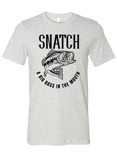 Snatch a Big Bass in the Mouth T-shirt