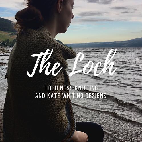 Trousse de tricot châle 'The Loch'