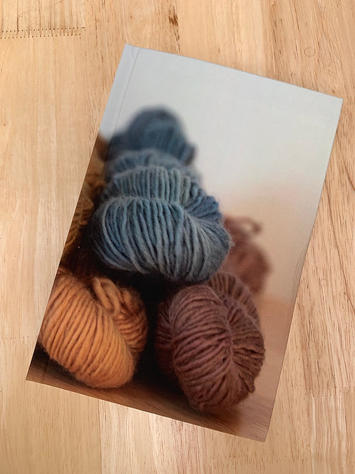 Creative Journal - my year of yarn