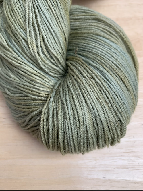 Green Yellow Mix 4ply Merino - Woodland Collection