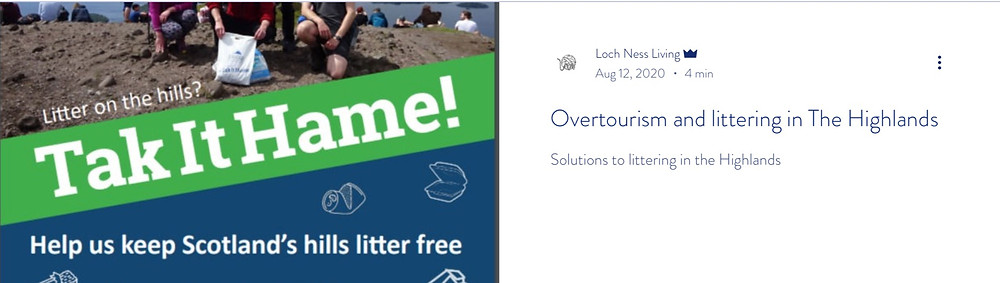 Link to Overtourism Blog