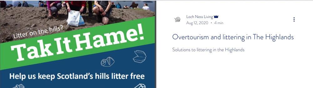 Link to Overtourism Blog