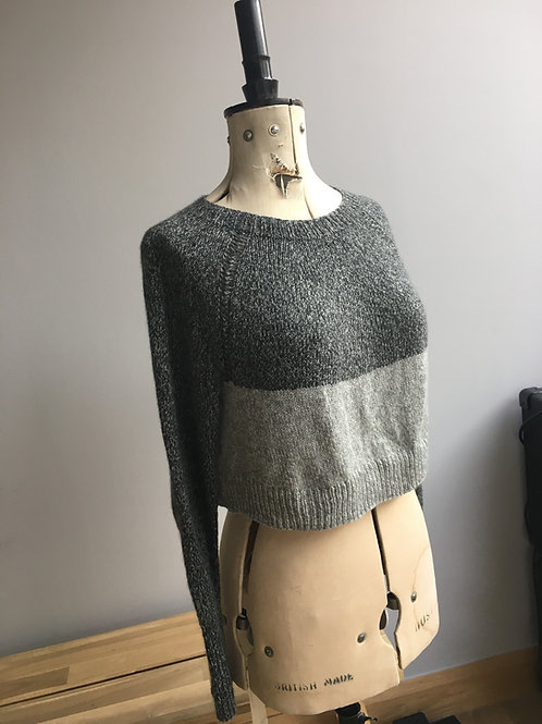 Cropped Yoga Sweater Pattern