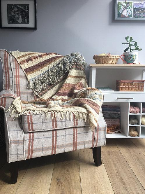 Textured Blanket Crochet Pattern
