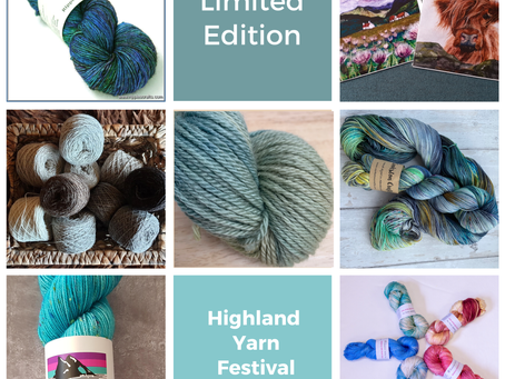 Highland Yarn Festival Bag