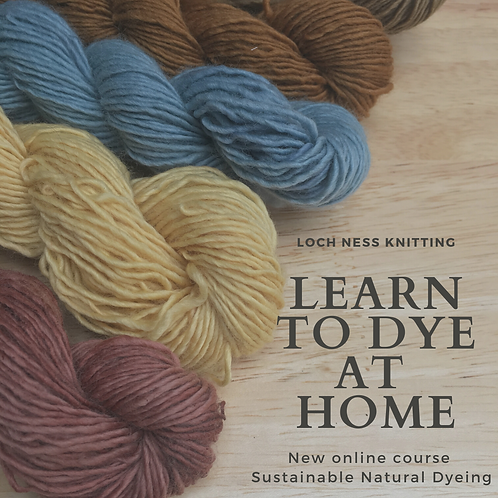 ONLINE Course Sustainable Natural Dyeing