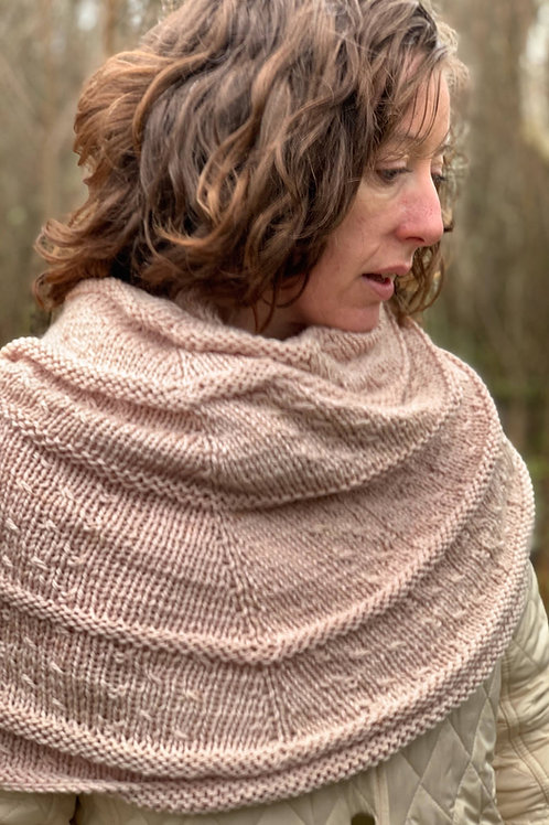 Strip the Willow Shawl Pattern