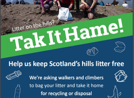 Overtourism and littering in The Highlands