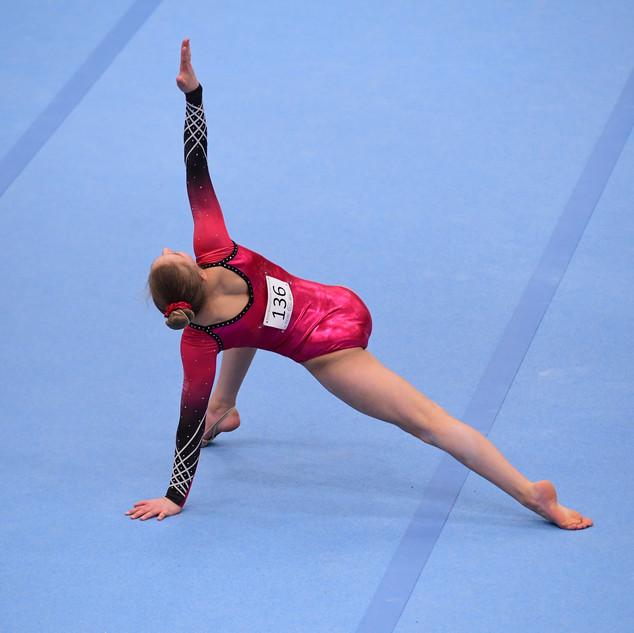 Phoebe floor routine