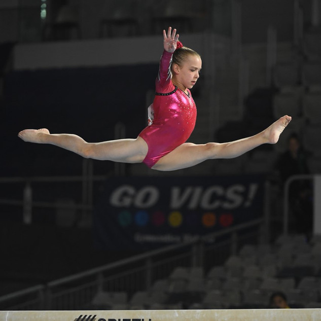 Chloe split leap at nationals