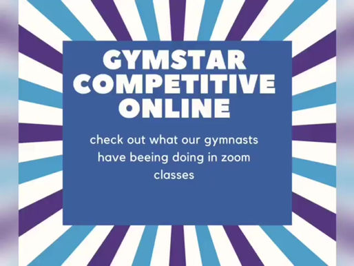 Gymstar Athletes - Online Training