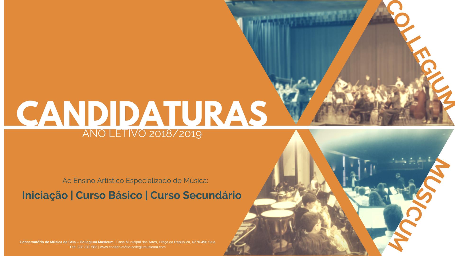 Candidaturas 2018-2019