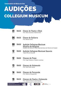 Audições Collegium Musicum