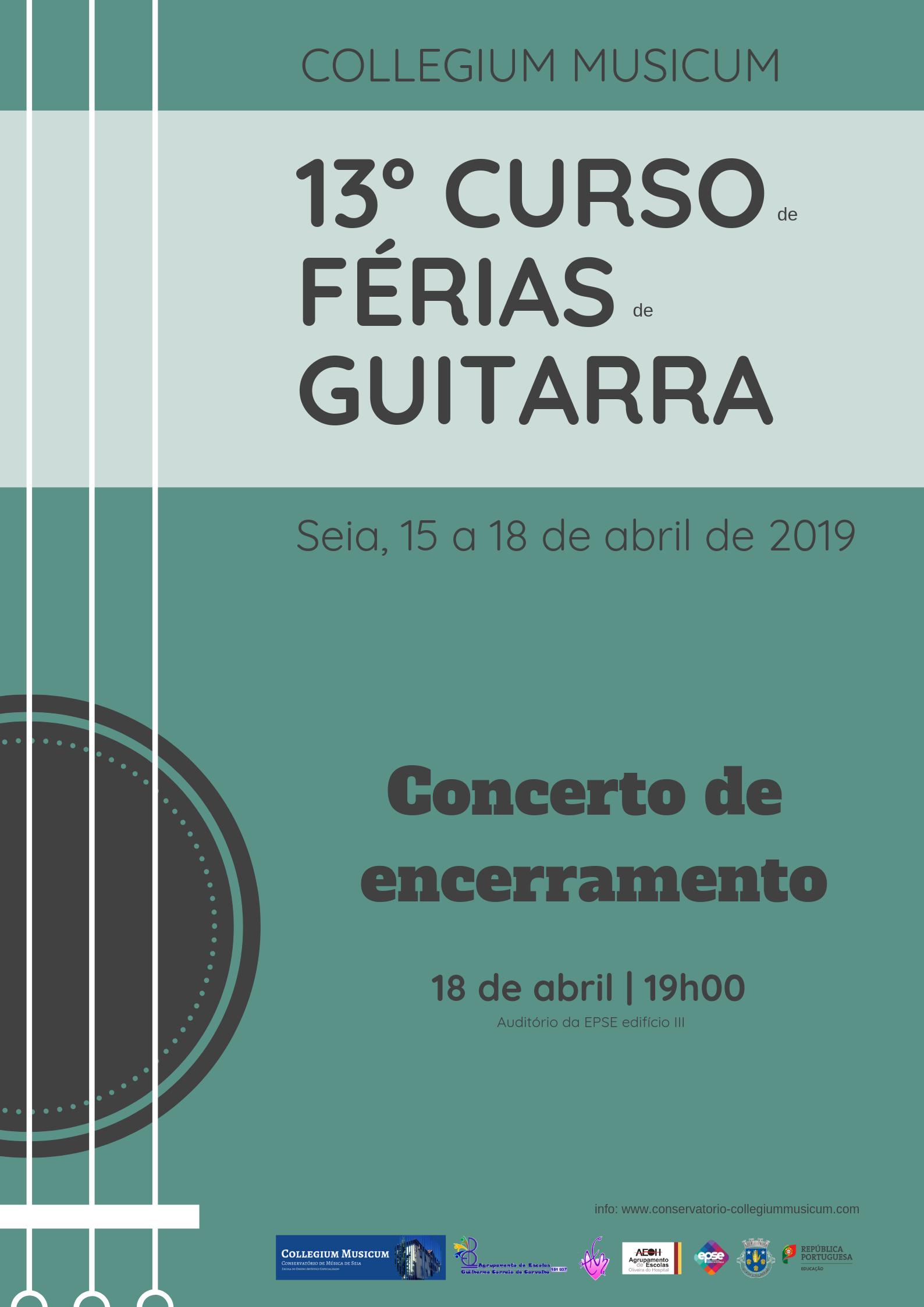 13º Curso de Férias de Guitarras