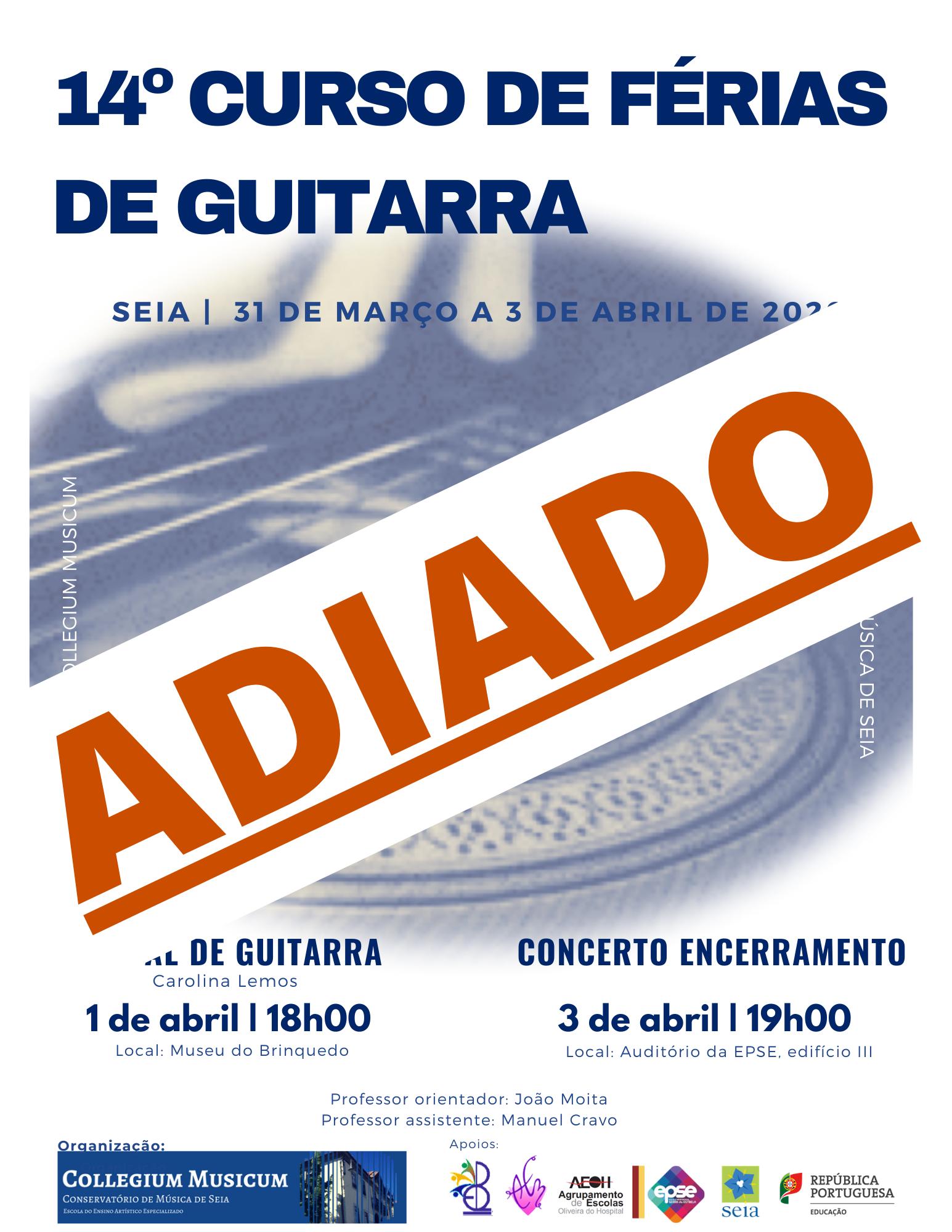 14º Curso de Férias de Guitarra